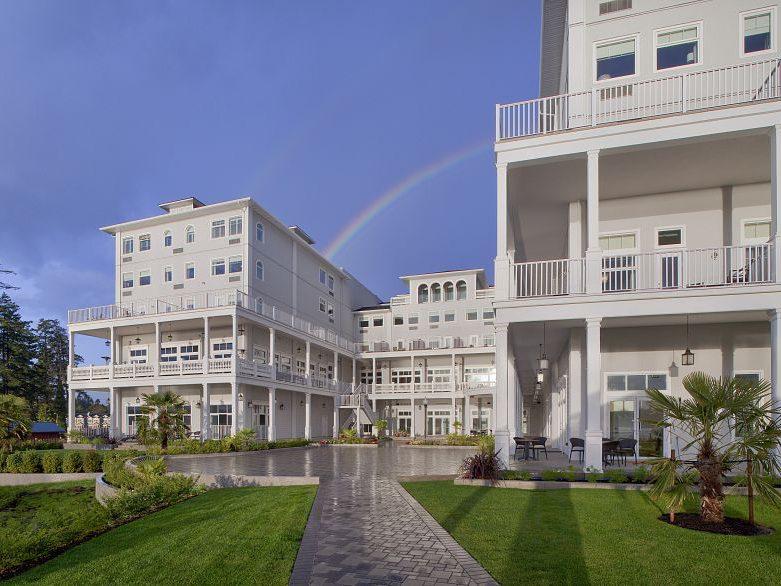 Beautiful Resorts In Sooke Harbor